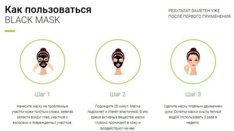 Правила использования Black Mask