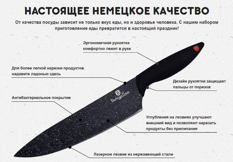 Характеристика ножа
