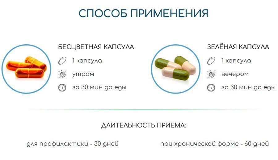 Способ применения Гепаклин