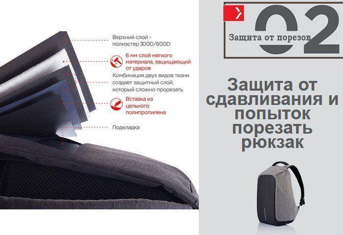 Защита рюкзака